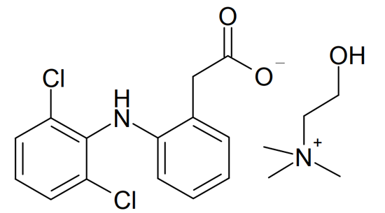 New approaches to the synthesis of diclofenac choline By Elżbieta Dąbrowska-Maś and Wojciech Raś (2017)