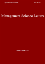 Management Science Letters